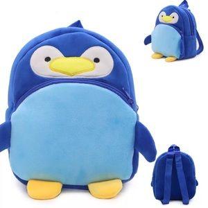 Plush Penguin Kids Backpack